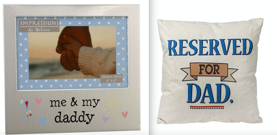 Dad Cushion & Photo Frame Gift Set