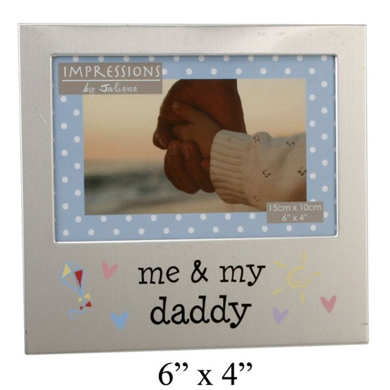 Photo Frame 4'' x 6'' Me & My Daddy