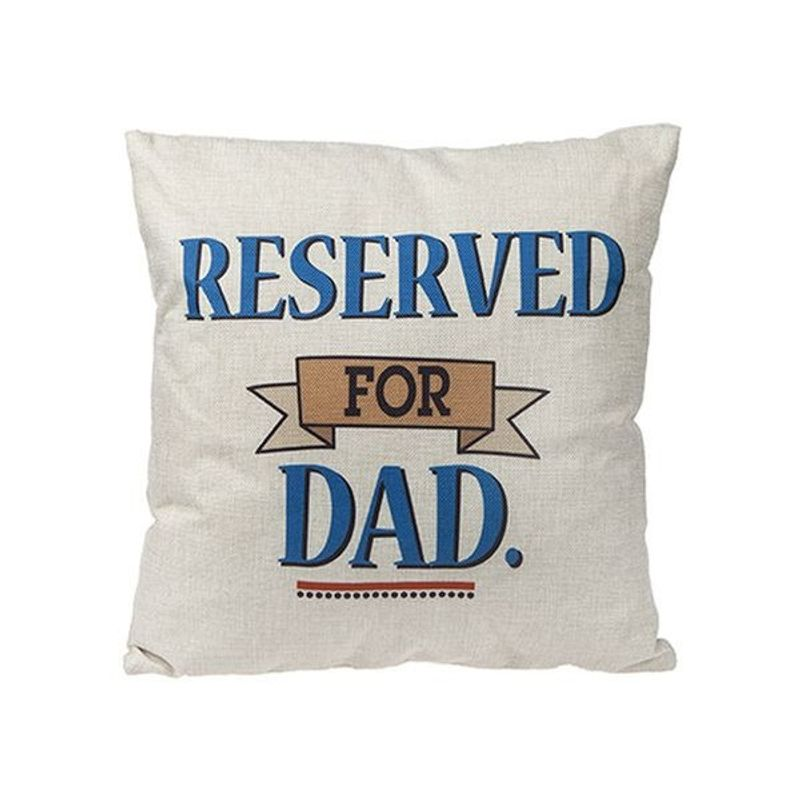 Reserved for Dad Square Cushion